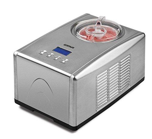 G3 ferrari cremosa gelatiera compressore 150w 1.5l acciaio inossidabile