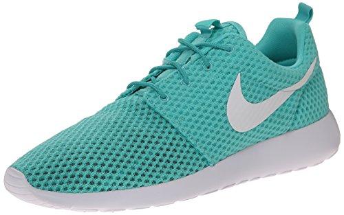 Nike Rosherun Br, flâneurs homme (Bianco-Celeste)