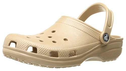 Crocs Unisex-Erwachsene Classic Clogs, Gold, 42/43 EU