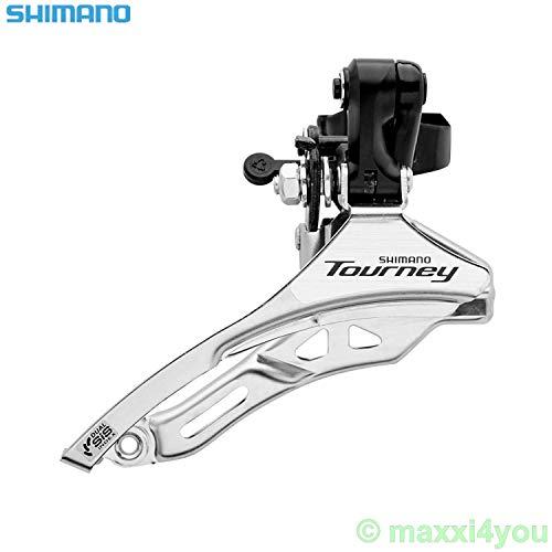 Tourney Shimano FDTY300 Umwerfer 6/7-fach Top Pull Schelle Ø 28,6 mm -