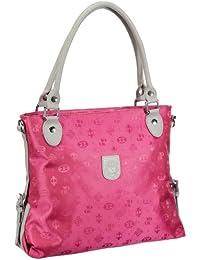 Poodlebags Club - Attrazione - Palermo - 3CL0313PALEP, Borsa a spalla donna 37x32x11 cm (L x A x P), Rosa (Pink (pink)), 37x32x11 cm (L x A x P)