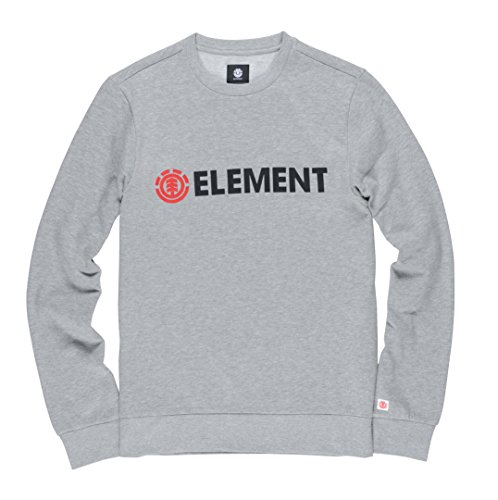 Element Herren Blazin Crew Sweatshirts Grey Heather