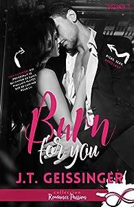 Slow burn, tome 1 : Burn for you par J.T. Geissinger
