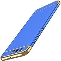 Funda Huawei Honor 9, PRO-ELEC Carcasa Honor 9 Ultra-Delgado 3 en 1 Desmontable Anti-Arañazos Duro Funda para Huawei Honor 9 - 5.15 pulgada - Azul