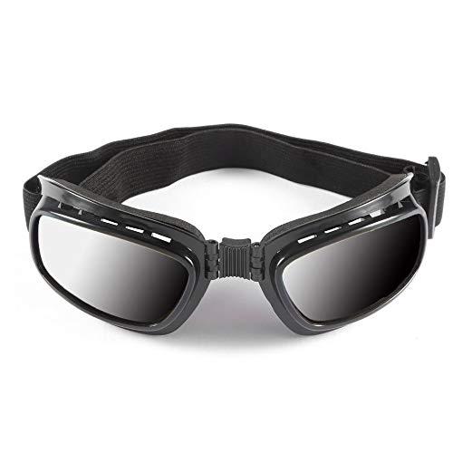 XYQY goggle Motorradbrille Armee Polarisierte Sonnenbrille Für Jagd Schießen Airsoft Eyewearmen Augenschutz Winddicht Moto BrilleSchwarz