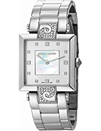 Pierre Cardin Damen-Armbanduhr Etre Envie Grande Analog Quarz Edelstahl Swiss Made