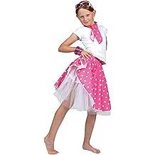 Falda rock n roll para disfraz de niña| color rosa