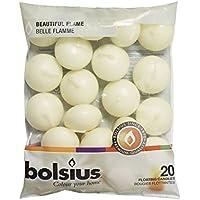 Bolsius–Candele galleggianti in confezione da 20e magnete