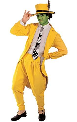 Manischer Superheld Kostüm Karneval Herren Verkleidung Mottoparty Standard