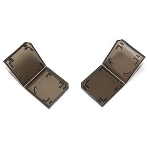 6 x Assecure Single Black Game card case holder for Nintendo 3DS, DS, Lite, DSi & XL