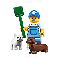 LEGO Minifigures Series 19 Dog Sitter + Dogs Minifigure 71025 (Bagged)