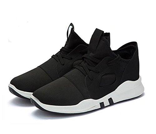 Ein Bißchen Unisex-Erwachsene Mode Fashion Atmungsaktive Outdoor Fitnessschuhe Sportschuhe schwarz-HB
