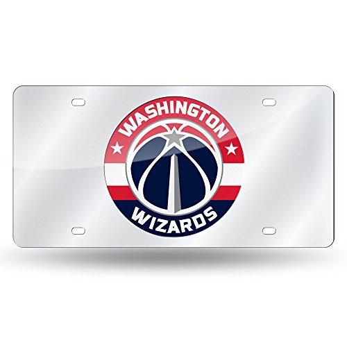 Rico NBA Nummernschild-Anhänger Washington, Laser-Intarsien, Metall, silberfarben Washington Nationals-laser