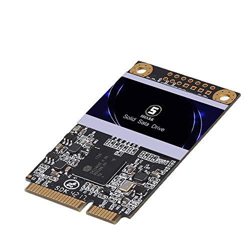 SSD mSATA 128GB Shark Integrierte Solid-State-Festplatte Hochleistungs-Festplatte Für Desktop-Laptop Einschließlich SSD 16GB 32GB 60GB 64GB 120GB 240GB 250GB 480GB 500GB(128GB, MSATA) (64 Gig Ssd)
