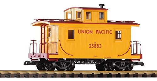 piko-g-scale-model-trains-union-pacific-wood-caboose-25883-38830-by-piko