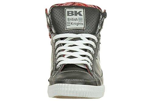 British Knights B31-3713Ca, Baskets mode homme grau