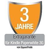 Kindle Paperwhite 3G  [Vorgängermodell] Extragarantie [3 Jahre] mit Unfall- und Diebstahlschutz, nur Deutschland