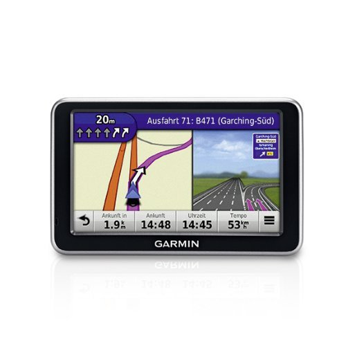 Garmin nüvi 140LMT 3D-Navigationsgerät (10,9 cm (4,3 Zoll) Touchscreen) mit Lifetime Maps & Traffic