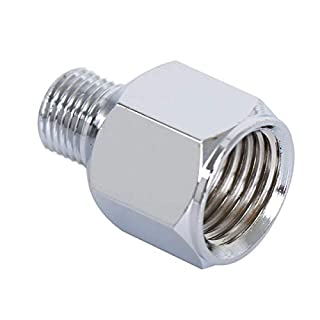 1pc Airbrush Air Hose Adaptor 1/4'' BSP Female to 1/8'' BSP Male Air Brush Connector for Air Compressor