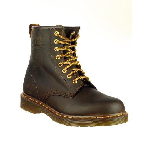 Dr. Martens 8-Loch Boot 1460, Scarpe donna Marrone
