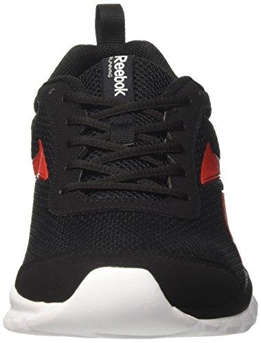 Reebok Herren Sublite Sport Joggingschuhe Mehrfarbig (Black/primal Red/whi)
