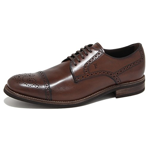 6986N scarpa uomo TOD'S DERBY marrone shoes man Cacao