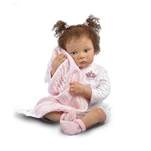 Waltraud Hanl Sweet Princess Poseable Baby Girl Doll by The Ashton-Drake Galleries