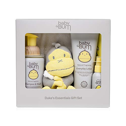 Aloe Moisturizing Shampoo (Baby Bum Duke's Essentials Gift Set - Shampoo and Wash - Everyday Lotion - Hand Sanitizer - Blanket)