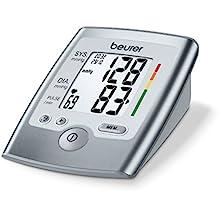 Beurer BM 35 - Tensiómetro de brazo, indicador OMS, memoria 2 x 60 mediciones