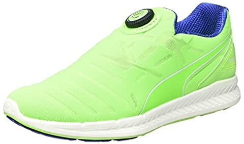 Puma Ignite Disc Running Shoe green Size: 9 UK