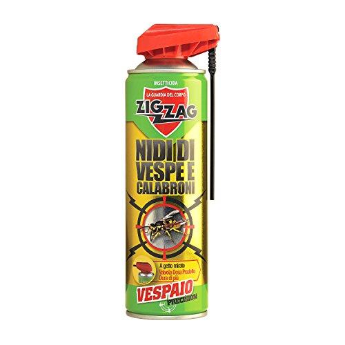 Zig Zag, Vespaio Precision, Insetticida Vespe spray ad azione immediata, con valvola...