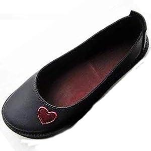 Damen Sommer Sandalen Halbschuhe Bootsschuhe Loafers Fahren Flache Schuhe Slippers Erbsenschuhe Low-top Schuhe Vintage Komfort Arbeitsschuhe