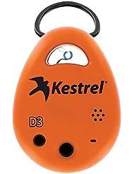 Kestrel Drop d3fw Professional Fire Wetter Tracker, orange