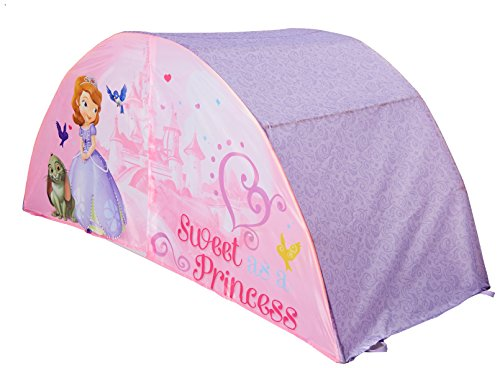 Disney Sofia the First Collection for Nursery / Toddler Room (Bed Tent) by Disney (English Manual) -