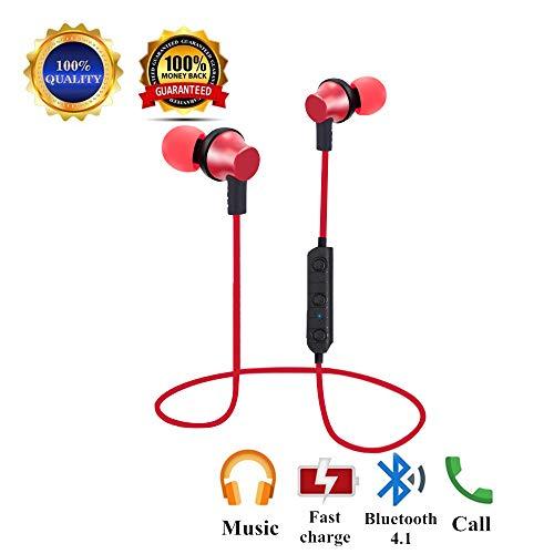 Sunvito Cuffie per lo Sport Bluetooth V4.1 Headset b6a4189bd445