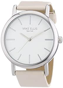 Mike Ellis New York L2979/1 Women's Analogue Quartz Watch with Leather Strap