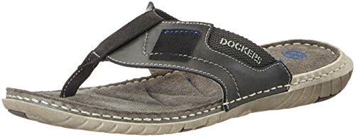 Dockers by Gerli 38sd001-204200, Mules Homme Gris (Grau 200)