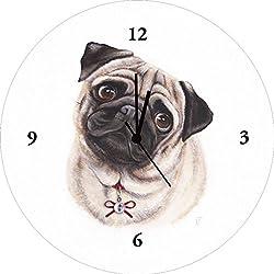Reloj De Pared Digital de impresión sobre vidrio de alta calidad imagen de carlino
