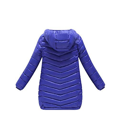 cinnamou Kapuzenmantel Lange Abschnitt Jacke Dicke warme Oberbekleidung Unisex Baby Schneeanzug