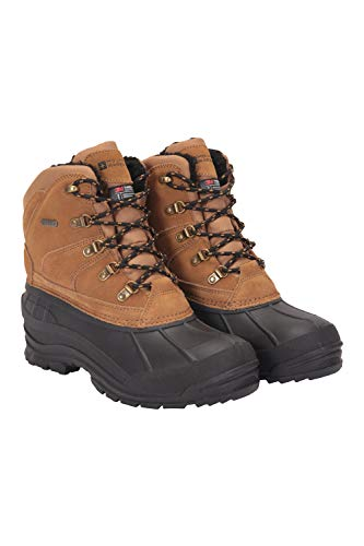 Mountain Warehouse Mens Range Snow Boots - 3m Thinsulate Winter Shoes