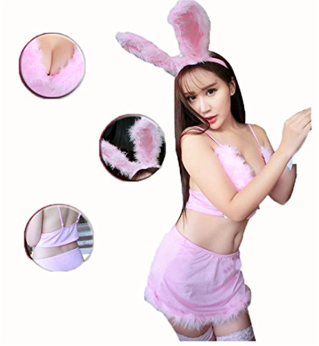 xixi-abito-sexy-coniglio-rosa-conigli-svegli-del-bambino