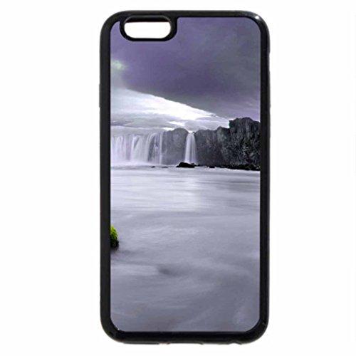 iPhone 6S / iPhone 6 Case (Black) WIDE WATERFALLS
