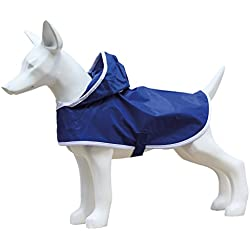 Freedog Impermeable Basic Para Perro Color Azul