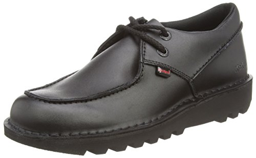 Kickers Kick Trap Lthr Am, Men's Derby, Black (Black), 10 UK (44...