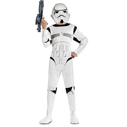 Imagen de star wars st 888571  disfraz de stromtrooper para adulto, color blanco, talla m
