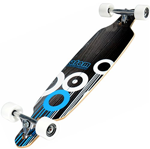 Atom Longboard Drop Through - Blue Longboard