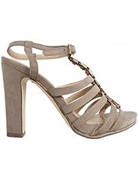 Zapatos de tacón de Mujer MTNG 58007 GIJON TAUPE