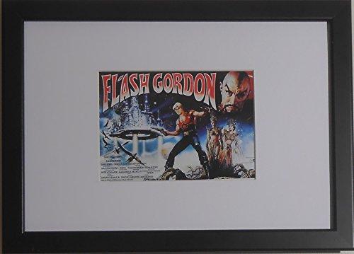 da-collezione-con-cornice-formato-cartolina-minature-movie-replica-flash-gordon-a4-290-mm-x-210-mm