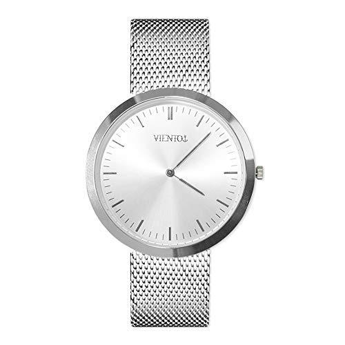 VIENTO Deluxe Uhr (Silberne) -