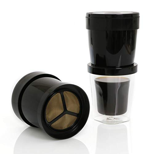Finum Coffee Sprinter Kaffee Dauerfilter - Kaffeefilter für Eine Tasse - Permanent Filter aus...
